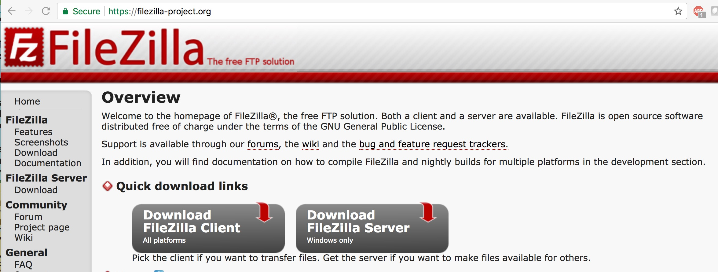 filezilla project org Frequently asked questions what is the relationship between libfilezilla and filezilla libfilezilla has been started by moving core functionality out of filezilla.